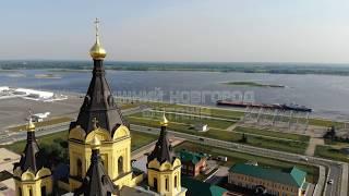 Нижний Новгород Футажи Аэросъемка