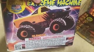 36shot Extreme Machine, ( World Class Fireworks)