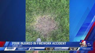 Four injured after fireworks at Utah Games Festival in Southern Utah