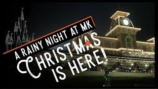 She Convinced Him to Stay! | Magic Kingdom Christmas Decorations & Fireworks