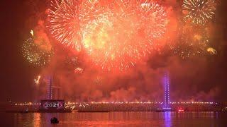 Egypt kicks off new year with dazzling fireworks | AFP