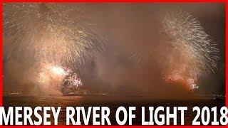 River of Light fireworks display 2018 | Wirral over to Liverpool