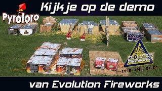 Kijkje op de demo van Evolution Fireworks 2018 + Nieuwe producten