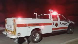 Tunkhannok TWP Fire Department taking up from Fireworks Detail (2019 June Pocono Race)