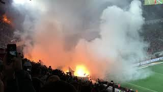 FOOTBALL MATCH WITH EXPLOSIONS AND FIREWORKS?! The Moscow Derby (Spartak-CSKA)