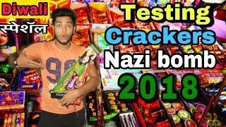 TESTING NEW CRACKERS | FIREWORKS STASH 2018 | Diwali Special Video | Celebrating Diwali