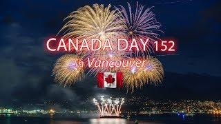 Vancouver's Canada Day 2019 Fireworks Spectacular [4K]