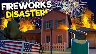 I BLEW UP THE NEIGHBORHOOD WITH FIREWORKS! - Fireworks Mania Gameplay