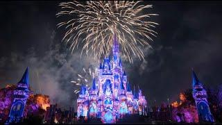 HAPPILY EVER AFTER FIREWORKS LIVE from Magic Kingdom WDW with Beth!