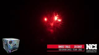 Ghost tails -- Chillicothe Fireworks