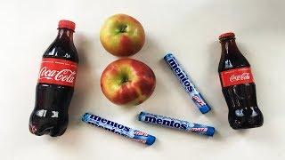 Apple + Mentos in Coca Cola for 100 DAYS - EXPERIMENT