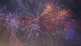 मुम्बई में ऐसी गज़ब आतिशबाज़ी कहीं नही हुई। Amazing Fireworks in Mumbai