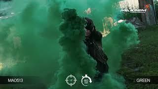 МА0513 Green Цветной дым густой Зеленый 60 секунд