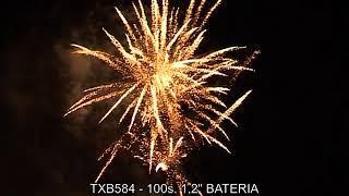 """Fajerwerki TXB584 Bateria 100s 1 2"""" Triplex"""
