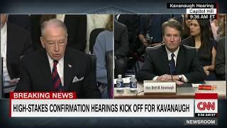 Fireworks Erupt At Kavannaugh Confirmation Hearing