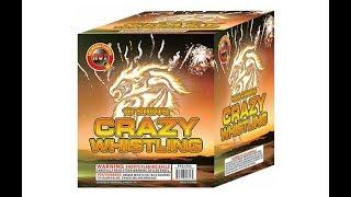 FCC1724 CRAZY WHISTLING 16 SHOT - HOT FIREWORKS