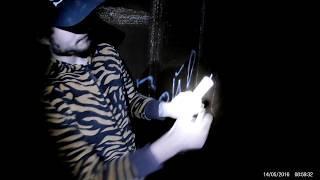взрыв мощной петарды в тоннеле КПВД
