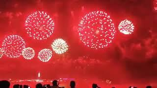 UAE 47th National Day Amazing Fireworks Show 2018 Dubai Live