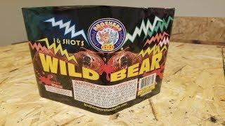 Wild Bear firework - Brothers Fireworks