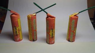 Мощные самодельные петарды ColourSalute с титаниум эффектом.Potężne domowe petardy  z efektem tytanu