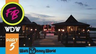 Magic Kingdom Fireworks from the Polynesian Resort + Electrical Water Pageant | 9/23/18