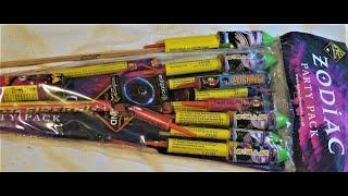 Zodiac Party Bag  Diamond bad boy fireworks