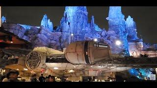 Disneyland's Mickey Mix Magic Fireworks from Star Wars Galaxy Edge