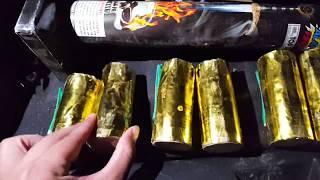 2019 warlock 60g canister shells Alamo fireworks demo