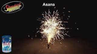 Asana Fountain - Standard Fireworks