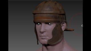 Zbrush 4R7 как сделать шлем римского легионера