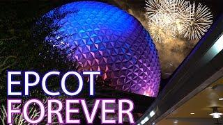 Epcot Forever Fireworks FULL Show! Walt Disney World Orlando Florida