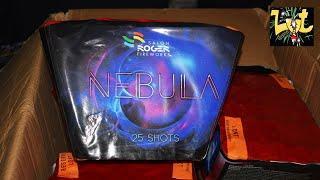 Nebula 25 Shots Waaier Cake Salon Roger Fireworks