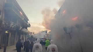 Apricena (Fg) - Batteria alla bolognese - Palmieri Fireworks- 31 Maggio 2019