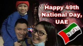 Happy 49th National Day UAE || Fireworks @ Dubai Festival City || UAE National Day Celebration 2020