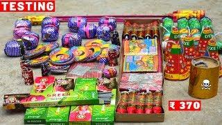 Testing different types of Diwali fireworks stash 2019/Diwali crackers testing/cracker testing