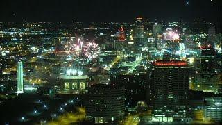 AMAZING: Fireworks light up Kansas City skyline for Chiefs Super Bowl victory