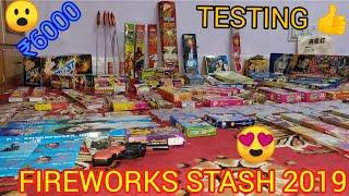 FIREWORKS STASH 2019 WITH TESTING