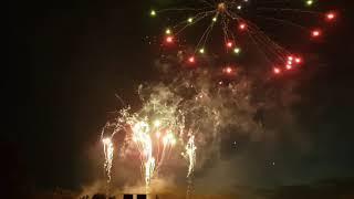 Shrewsbury Flower Show 2019 Fireworks