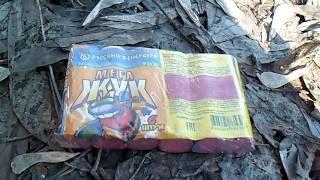 Взрываем петарды целыми упаковками. Часть 9: Мега жуки
