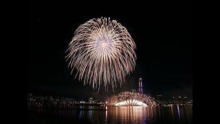 [4K] (Low Audio) 2018 Seoul International Fireworks Festival Korea Team 2018 여의도 불꽃축제 한국 팀 서울세계불꽃축제