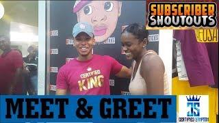 CERTIFIED SAMPSON MEET AND GREET, SUBSCRIBER SHOUTOUTS & FIREWORKS DISPLAY