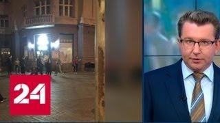 Подростки разгромили магазин в центре Киева - Россия 24