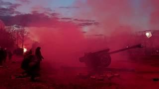 """Д-30, """"Ассоль"""" и """"Вега""""! Артиллерийский салют и фейерверк в Новосибирске!"""