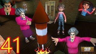 Scary Teacher 3D - New Level - New Prank Fireworks | GamePlay #41