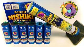 "NISHIKI WILLOW 5"" INSANE CAN-SHELLS PHANTOM FIREWORKS"