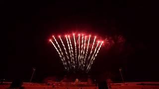 Jake's Fireworks Display Tribute to Earl Cassorla Western Winter Blast 2/15/2020