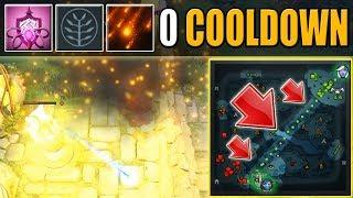 Fireworks WTF MODE [0 Cooldown Rocket Flare ALL MAP SPAM] Dota 2 Ability Draft