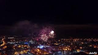 Новый год, фейерверк, Жигулевск 2019.