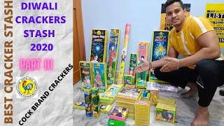 DIWALI CRACKERS STASH 2020 | MURGACHAP COCK BRAND AND OTHER FIREWORKS 2020