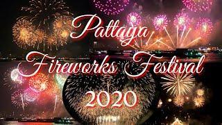 PATTAYA INTERNATIONAL FIREWORKS FESTIVAL 2020